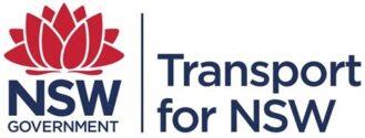Transport fro NSW logo