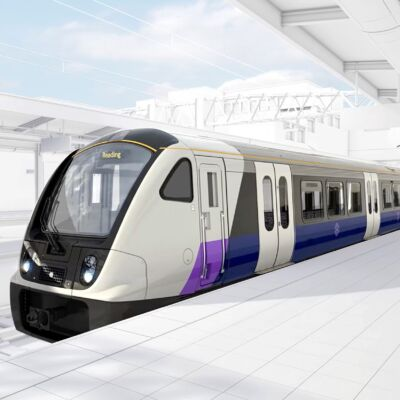 TfL Crossrail Train Exterior
